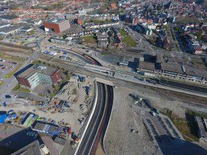 luchtfoto Zuidplein